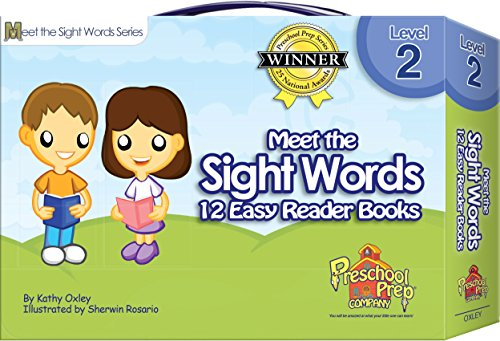 Meet the Sight Words - Level 2 - Easy Reader Books (boxed set of 12 (Easy Level)