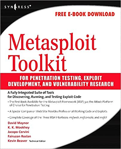 Metasploit toolkit for penetration testing exploit development and metasploit toolkit for penetration testing exploit development and vulnerability research 1st edition fandeluxe Choice Image