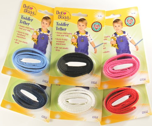 Toddler Tether Assorted Colors Case Pack 72 by Baby Buddy