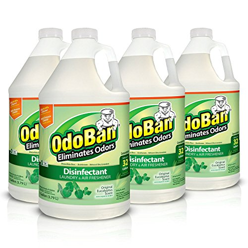 [해외]OdoBan Eucalyptus Odor Eliminator and Disinfectant Multi-Purpose Cleaner Concentrate 4 Gallon / OdoBan Eucalyptus Odor Eliminator and Disinfectant Multi-Purpose Cleaner Concentrate 4 Gallon