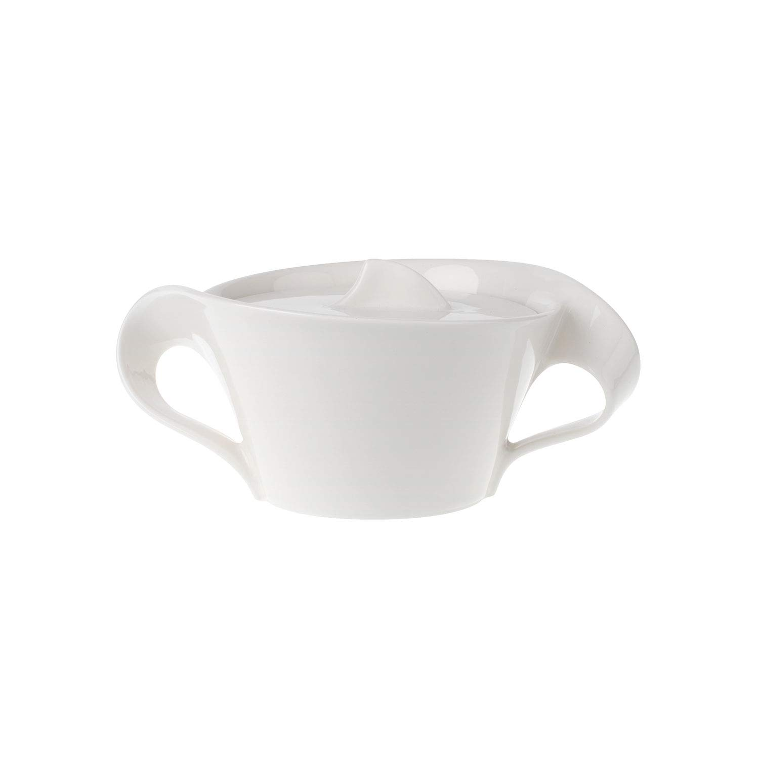 Villeroy & Boch New Wave 8-3/4-Ounce Covered Sugar