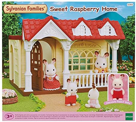 Sylvanian Family House Red Roof Series 5393 Raspberry House