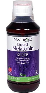 Natrol Melatonin Sleep Liquid, 5 Mg, 8 Fluid Ounce