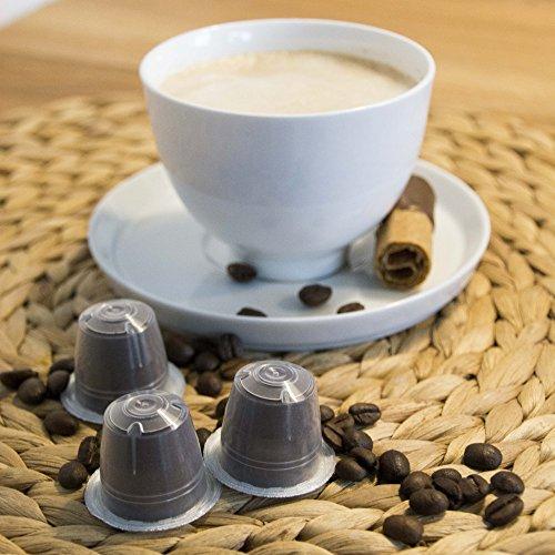 Caffe Italia Kaffeekapseln 100 Stück in 3 Sorten NESPRESSO Kompatibel Lungo Ristretto Crema
