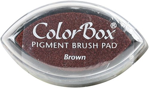 (CLEARSNAP ColorBox Pigment Cat's Eye Inkpad, Brown)