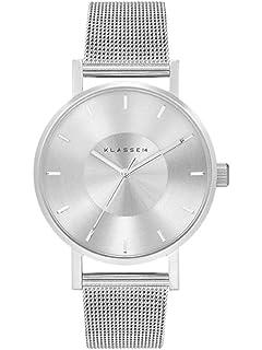 4c063228415e [クラス14]KLASSE14 腕時計 ウォッチ VOLARE 36mm メッシュベルト シンプル ファッション シルバー レディース [
