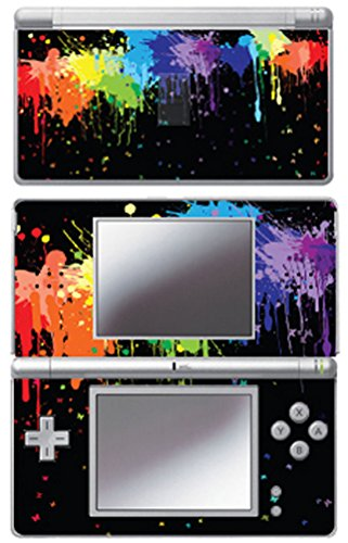 Nintendo Ds Faceplates - MightySkins Protective Vinyl Skin Decal Cover Sticker for Nintendo DS Lite - Splatter