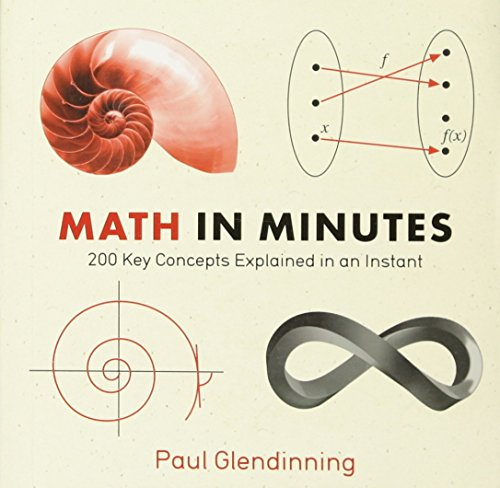 - Math in Minutes: 200 Key Concepts Explained In An Instant (Knowledge in a Flash)