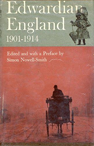 Edwardian England, 1901-1914 (Edwardian Era)