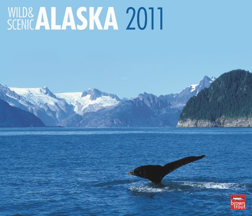 Large Wall Calendar 2010 - Alaska, Wild & Scenic 2011 Deluxe Wall
