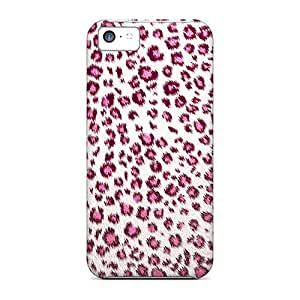 CarlosRodgers Case Cover For Iphone 5c - Retailer Packaging Pink Leopard Protective Case