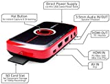 AVerMedia Live Gamer Portable, Full HD 1080p Recording Without PC Directly to SD Card, Ultra Low Latency, H.264 Hardware Encoding, USB Video Capture, High Definition Game Capture, Recorder, Streaming (C875)