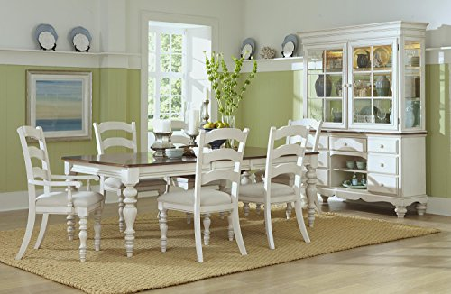 Hillsdale Furniture 7-Pc Wooden Dining Set