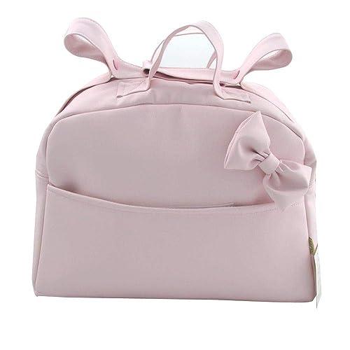 Suley Bolso Polipiel Para Carro Bebe - Color Rosa Bebe – 4 ...