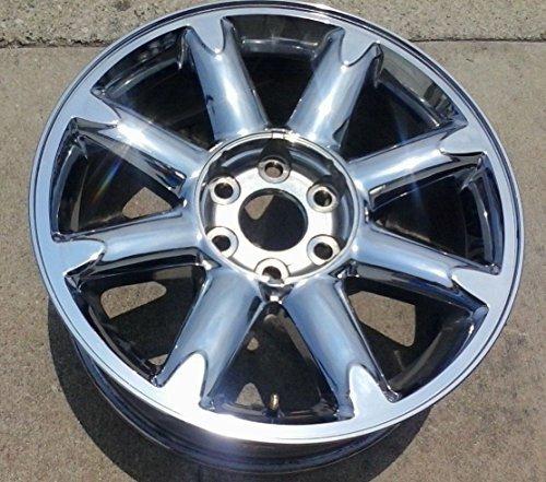 20 INCH 2007-2014 GMC YUKON SIERRA 1500 XL DENALI OEM CHROME CLAD WHEEL RIM 5304 9595662 20X8,5 6X5.5 07 08 09 10 11 12 13 - Xl Tires Yukon