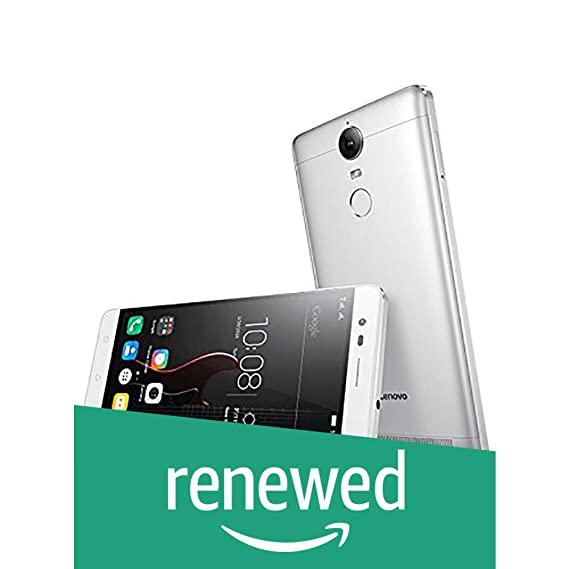 (Renewed) Lenovo K5 Note (Silver, 32GB)