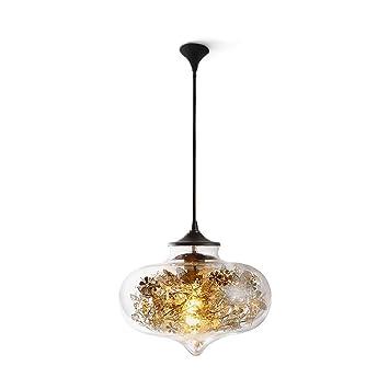 MEGSYL Lámparas de cristal del amor, lámpara de techo ...