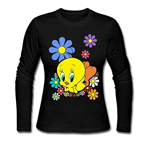Tweety T Shirt For Womens O-Neck
