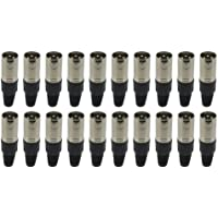 Sewell Direct SW-30101-20 XLR Connector Male, 20 Pack