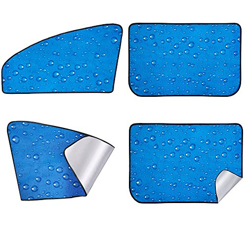 Front Window Shade Side Window Sunshade Baby 4pcs ()