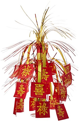 Asian Cascade Centerpiece Party Accessory (1 count) -