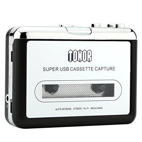 23 opinioni per Tonor Convertitore Riproduttore da Cassetta a MP3 on Auricolari e CD Quickstar
