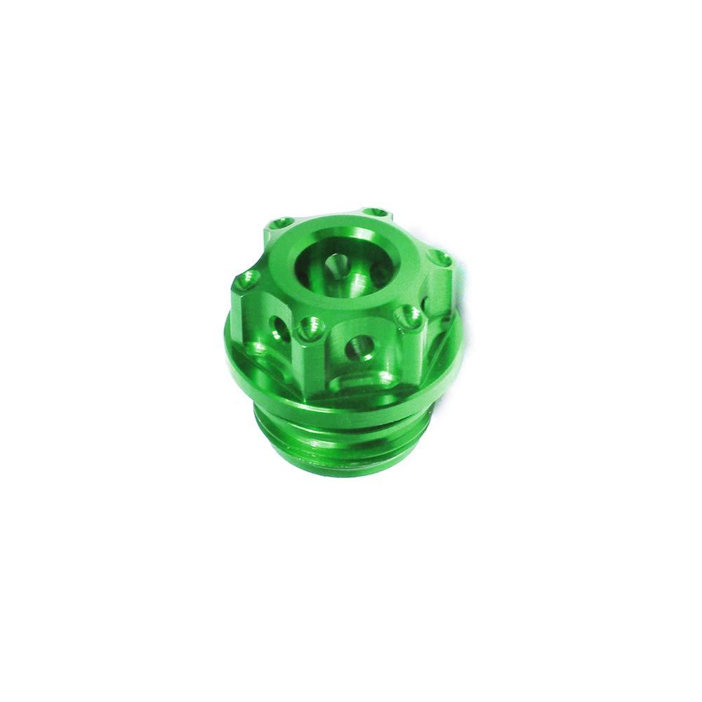 CNC Billet Green Oil Filler Cap For Kawasaki ZX-10R Ninja 2004-2017 ZX-6R 636 Ninja 2013-2017 Ninja 300R 2012-2017