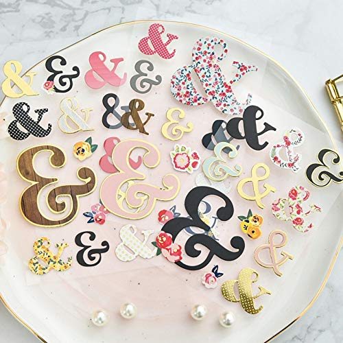 Dies for Cutting Card Making Planner Happy Stickers Craft Cute 3D Die Cut Self-Adhesive Stickers for Scrapbooking Happy Planner/Card Making/Journaling Project