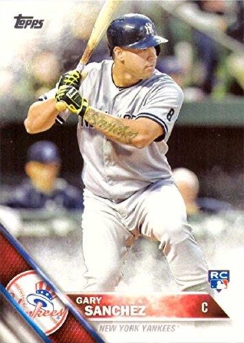 2016 Topps Baseball #675 Gary Sanchez Rookie Card