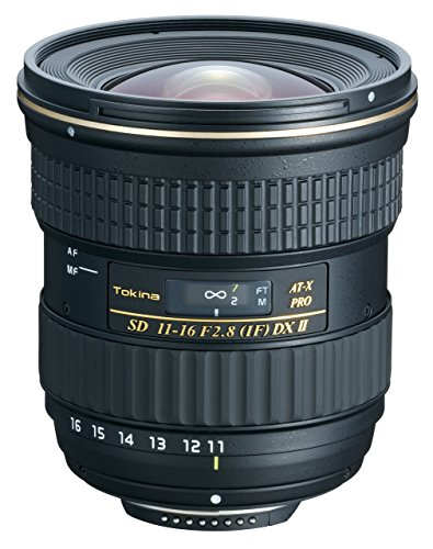 Tokina 11-16mm f/2.8 AT-X116 Pro DX II Digital Zoom Lens (for Canon EOS Cameras) by Tokina