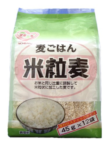 Japan pearling rice grain wheat (45gX12 present) X6 pieces by Japan pearling