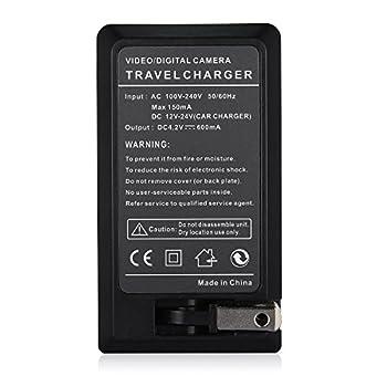 Antoble DMW-BCF10PP Battery Charger for Panasonic Lumix DMW-BCF19PP, DMW-BCF10, DMC-TS4, DM-TS3, DMC-FH20, DMC-TS2, DMC-FS15, DMC-TS1