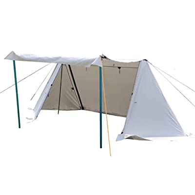 Camping Tent 5-6 Person Instant Tent Portable Cabin Tent with Rainfly for Family Camping, Traveling, Hiking, Picnicing, Easy Set Up: Sports & Outdoors