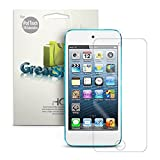 GreatShield Ultra Smooth Clear Screen Protector Film for Apple iPod Touch 6th Generation (2015) and 5th Generation (2012) (3 Packs) - LIFETIME WARRANTY