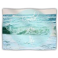 "Kess InHouse Beth Engel ""Crash Into Me"" Dog Blanket, 60 by 50-Inch"