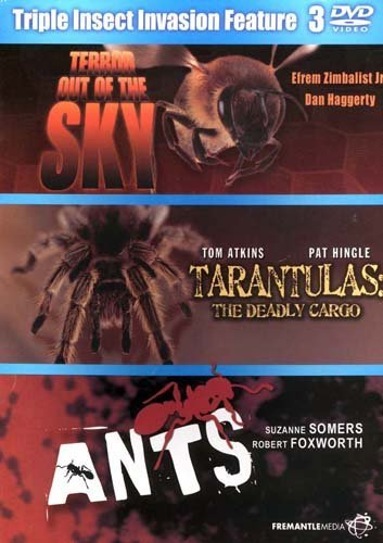 Triple Insect Invasion Feature 3: Terror out of the Sky / Tarantulas: The Deadly Cargo / Ants
