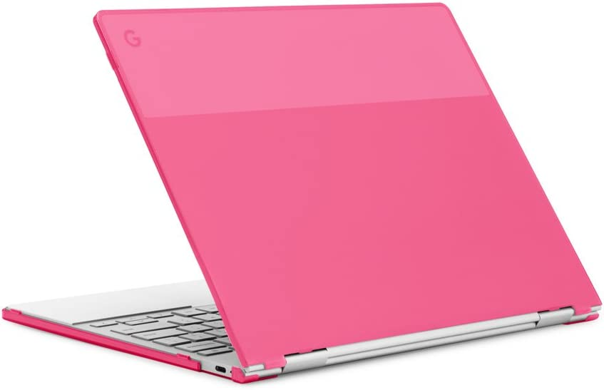 "mCover Hard Shell Case for 12.3"" Google Pixelbook Chromebook (NOT Compatible Older Model Released Before 2017) laptops (Pink)"