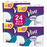 Health & Personal Care : VIVA Vantage Choose-A-Sheet* Paper Towels, White, Big Plus Roll, 24 Rolls, Packaging May Vary
