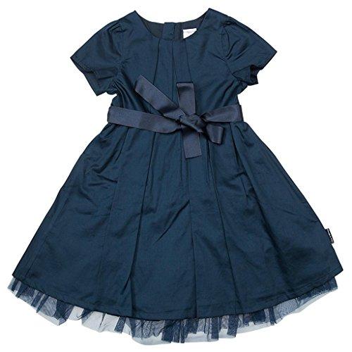 POLARN O. PYRET Little Girls' HOLIDAY TULLE DRESS - 2-3 years/Dark Night