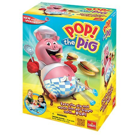 Goliath Games Pop the Pig Kids Game for Ages 4 and Up