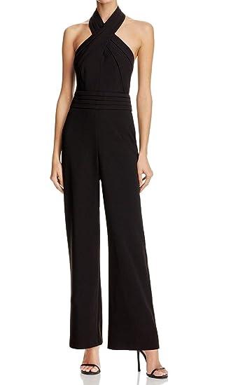 66ee767d1814 Amazon.com  Adelyn Rae Women s Cindy Jumpsuit Black Large  Clothing
