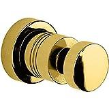 W-Luxury Ribbet Wall Towel Robe Hook Hanger for Bath/Kitchen Towel Holder, Brass (Polished Gold)