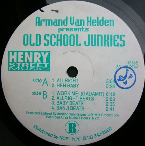 Armand Van Helden - Old School Junkies Armand Van Helden - Zortam Music