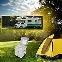 10L Portable Toilet Travel Camping Outdoor Potty Flush 2.8 Gallon