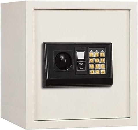 Cajas Fuertes Gabinete Digital Caja fuerte con acero sólido: residencial, comercial, oficinas, hoteles, Proteger dinero, joyas, pasaportes Para Hotel De Origen (Color : White , Size : 39.3x35x31cm) : Amazon.es: Hogar
