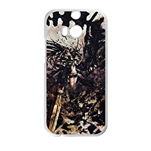 HD exquisite image for HTC One M8 Cell Phone Case White black rock shooter MIO9264825