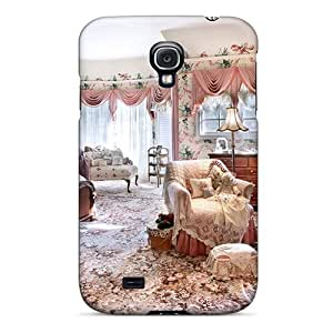 DustinHVance Perfect Tpu Case For Galaxy S4/ Anti-scratch Protector Case (impressive Bedroom)