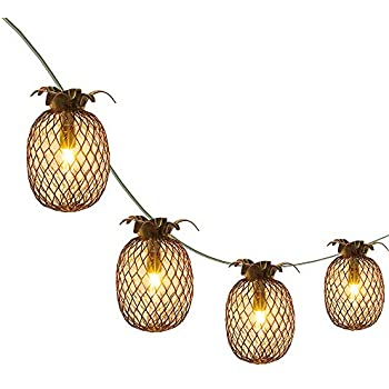Amazon Com Lidore Pineapple Lantern String Lights Best
