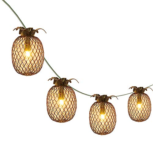 LIDORE Pineapple Lantern String Lights Best for Indoor/Outdoor