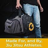 Gold BJJ Jiu Jitsu Duffle Bag - Waterproof Pocket
